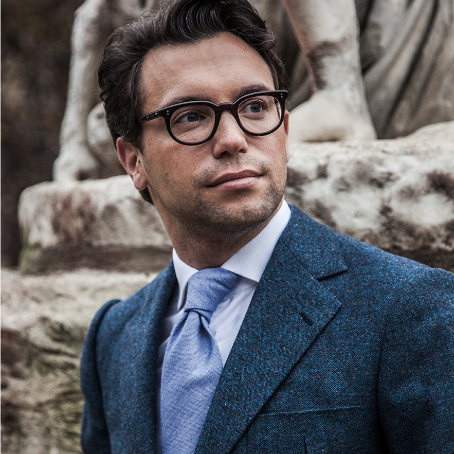 StarkandSons Tailleur Costumes Homme Paris Stark&Sons cravate soie veste chemise sur mesure