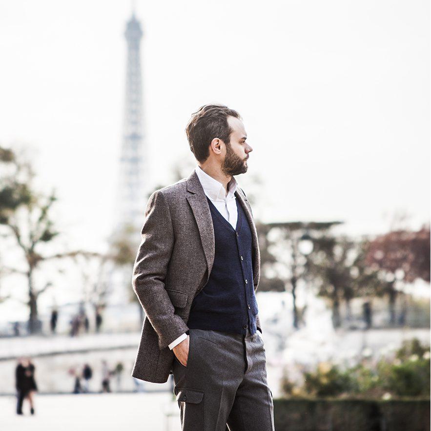 StarkandSons Tailleur Costumes Homme Paris Stark&Sons veste pantalon chemise sur mesure