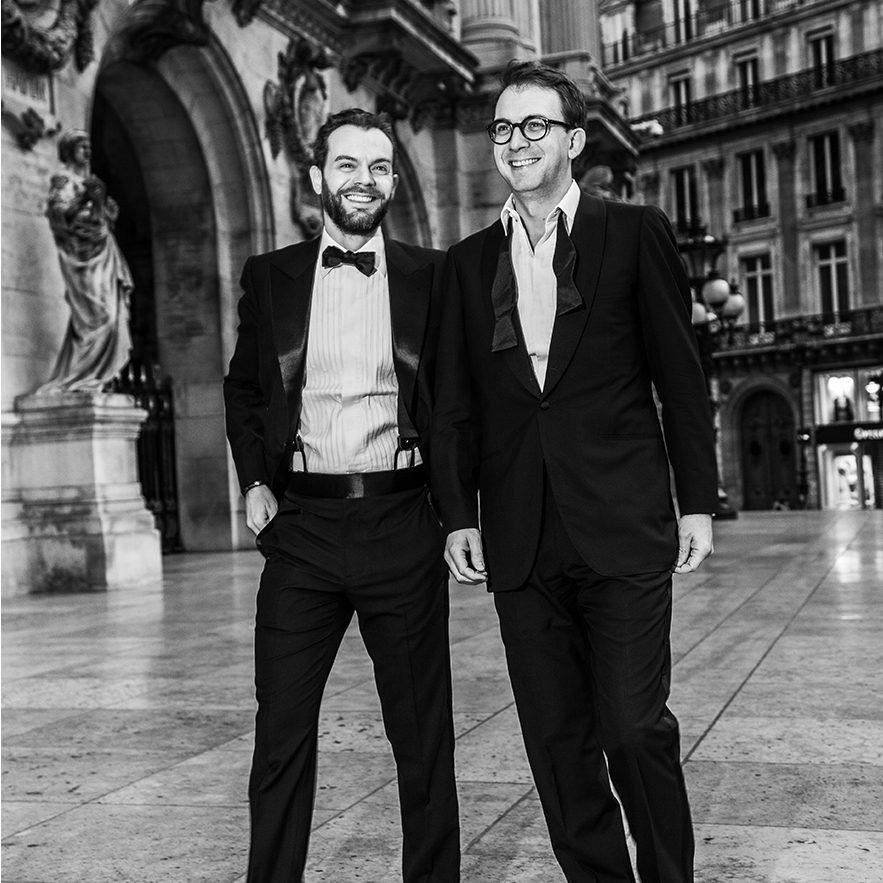 StarkandSons Tailleur Costumes Homme Paris Stark&Sons smoking noeud papillon chemise sur mesure CharlesdeLuca JuliendeLuca