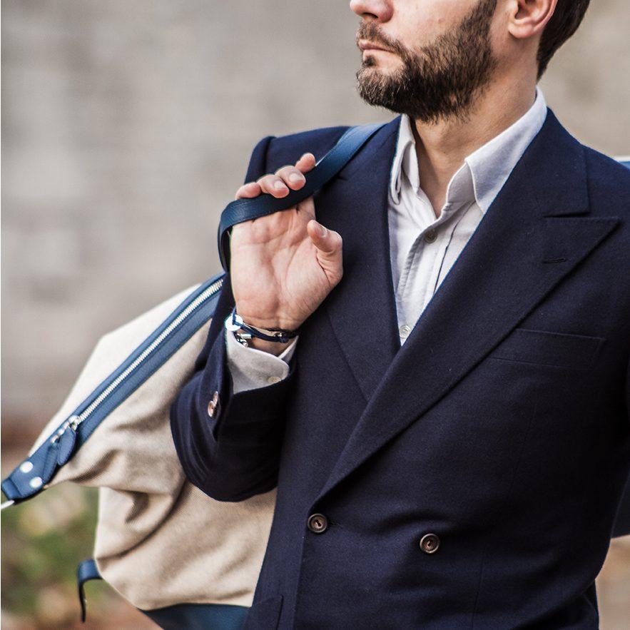 StarkandSons Tailleur Costumes Homme Paris Stark&Sons cravate cardigan chemise sur mesure